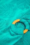 Maillot de bain 1 pièce vert ceinturé MANDINI KANDIMA