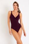 Maillot de bain 1 pièce violet NANCIE PAVILLON