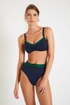 Maillot de bain rétro bleu et vert TRISTAN & GABY CORALES