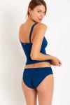 Maillot de bain 2 pièces bleu Cynthia & Stael Barfleur