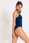 Maillot de bain 1 pièce bleu FRIDA BARFLEUR