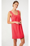 Robe de plage uni rouge FLORIANE LAVANDOU