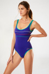 Maillot de bain 1 pièce indigo Livia ANTHENIA BELLAGORY