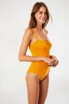 maillot de bain une pièce jaune curry MICHELA PAVILLON