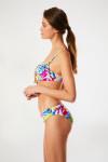 Maillot de bain multicolore push-up REJANE & MAUVE ARTIFICE