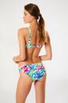 Maillot de bain multicolore à armatures SASKIA & MAUVE ARTIFICE