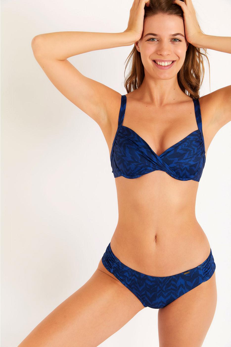 Maillot de bain 2 pièces bleu Saskia & Stael Amarelo