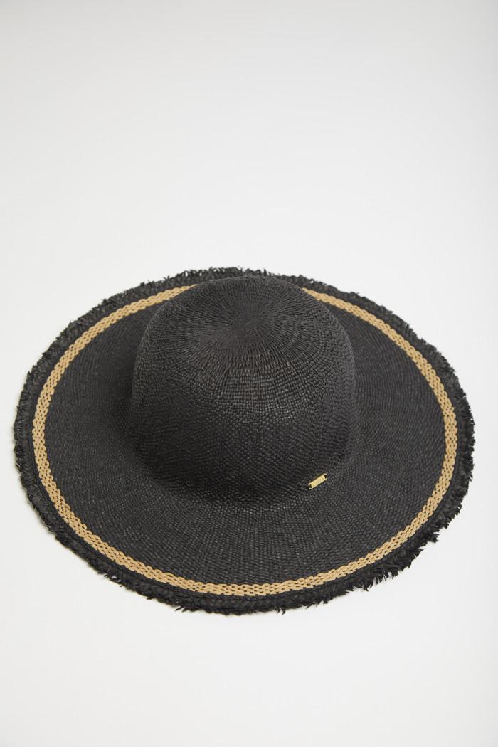 Chapeau Livia noir PAULETTE