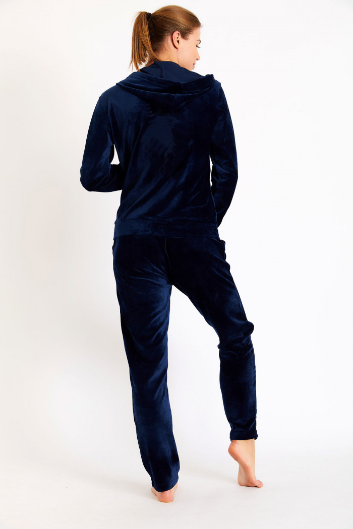 Pantalon de jogging femme bleu marine ALERIA AGRIATES